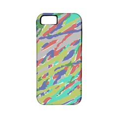Crayon Texture Apple iPhone 5 Classic Hardshell Case (PC+Silicone)