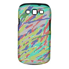 Crayon Texture Samsung Galaxy S Iii Classic Hardshell Case (pc+silicone)