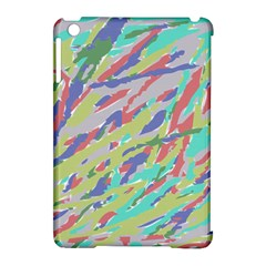 Crayon Texture Apple Ipad Mini Hardshell Case (compatible With Smart Cover)