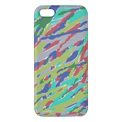 Crayon Texture Apple iPhone 5 Premium Hardshell Case