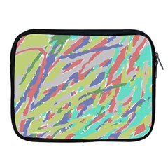 Crayon Texture Apple Ipad 2/3/4 Zipper Cases
