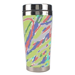 Crayon Texture Stainless Steel Travel Tumblers