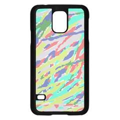 Crayon Texture Samsung Galaxy S5 Case (black)