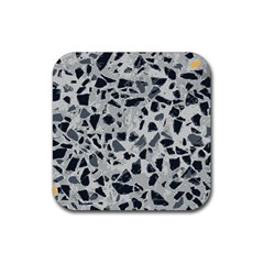 Textures From Beijing Rubber Square Coaster (4 Pack)