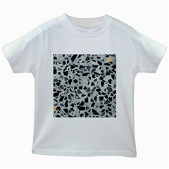 Textures From Beijing Kids White T Shirts
