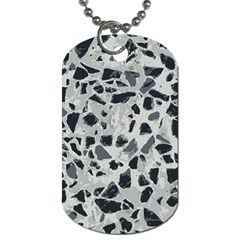 Textures From Beijing Dog Tag (one Side)