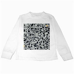 Textures From Beijing Kids Long Sleeve T Shirts