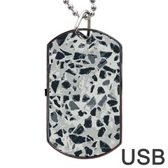 Textures From Beijing Dog Tag USB Flash (Two Sides)