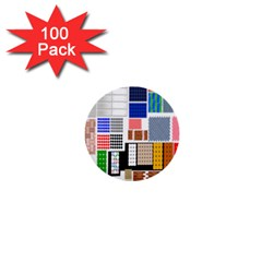 Texture Package 1  Mini Buttons (100 pack)