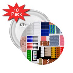 Texture Package 2 25  Buttons (10 Pack)