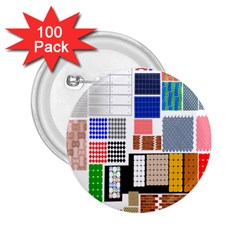 Texture Package 2.25  Buttons (100 pack)