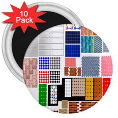 Texture Package 3  Magnets (10 pack)