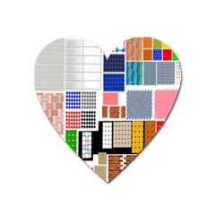 Texture Package Heart Magnet