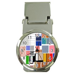 Texture Package Money Clip Watches