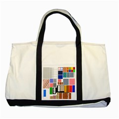 Texture Package Two Tone Tote Bag