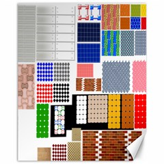 Texture Package Canvas 11  x 14