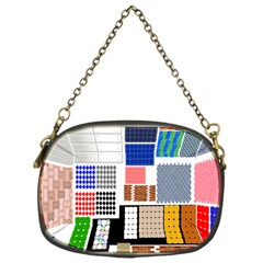 Texture Package Chain Purses (One Side)