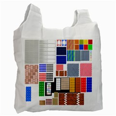 Texture Package Recycle Bag (one Side)