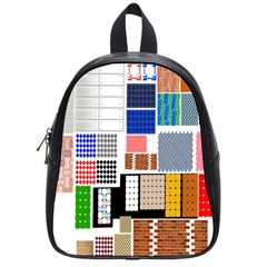 Texture Package School Bags (small)