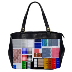 Texture Package Office Handbags