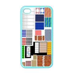 Texture Package Apple Iphone 4 Case (color)