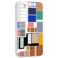 Texture Package Apple Iphone 4/4s Seamless Case (white)