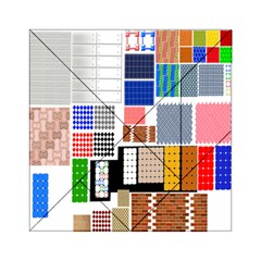 Texture Package Acrylic Tangram Puzzle (6  X 6 )