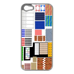 Texture Package Apple Iphone 5 Case (silver)