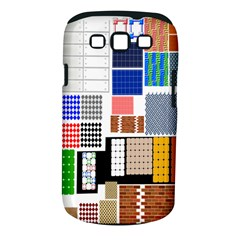 Texture Package Samsung Galaxy S Iii Classic Hardshell Case (pc+silicone)