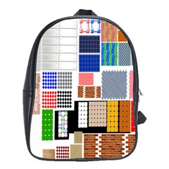 Texture Package School Bags (xl)