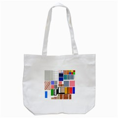 Texture Package Tote Bag (white)