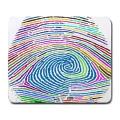Prismatic Fingerprint Large Mousepads