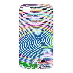 Prismatic Fingerprint Apple Iphone 4/4s Premium Hardshell Case