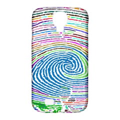 Prismatic Fingerprint Samsung Galaxy S4 Classic Hardshell Case (pc+silicone)