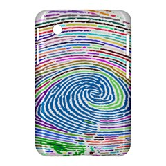 Prismatic Fingerprint Samsung Galaxy Tab 2 (7 ) P3100 Hardshell Case