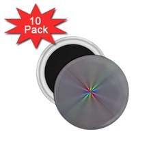 Square Rainbow 1 75  Magnets (10 Pack)