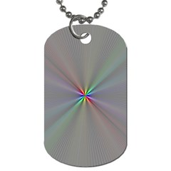 Square Rainbow Dog Tag (two Sides)