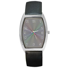 Square Rainbow Barrel Style Metal Watch