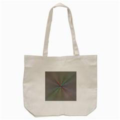 Square Rainbow Tote Bag (Cream)