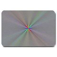 Square Rainbow Large Doormat