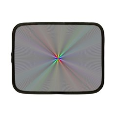 Square Rainbow Netbook Case (small)