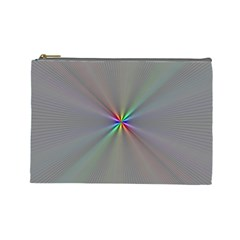 Square Rainbow Cosmetic Bag (large)
