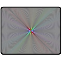 Square Rainbow Fleece Blanket (Medium)