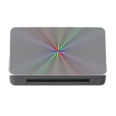 Square Rainbow Memory Card Reader With Cf