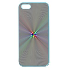 Square Rainbow Apple Seamless Iphone 5 Case (color)