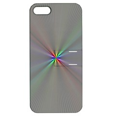 Square Rainbow Apple iPhone 5 Hardshell Case with Stand