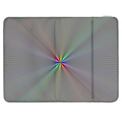 Square Rainbow Samsung Galaxy Tab 7  P1000 Flip Case
