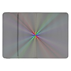 Square Rainbow Samsung Galaxy Tab 8 9  P7300 Flip Case