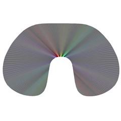 Square Rainbow Travel Neck Pillows