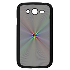 Square Rainbow Samsung Galaxy Grand Duos I9082 Case (black)